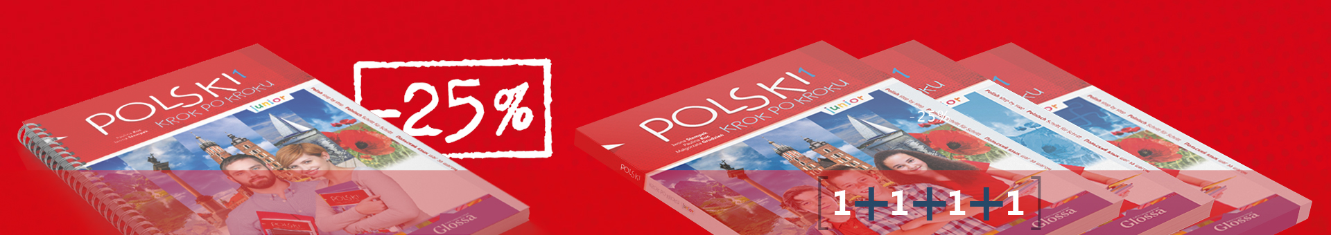 Pakiet: POLSKI krok po kroku - junior